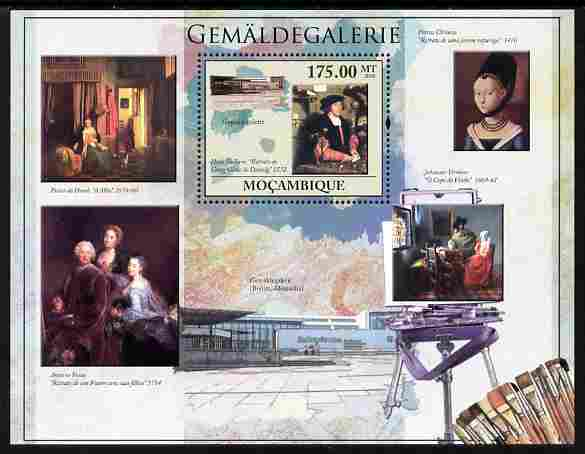 Mozambique 2010 Picture Gallery of Berlin perf m/sheet unmounted mint