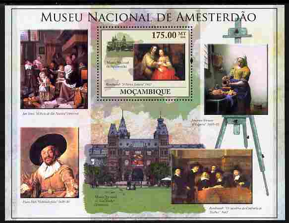 Mozambique 2010 National Museum of Amsterdam perf m/sheet unmounted mint