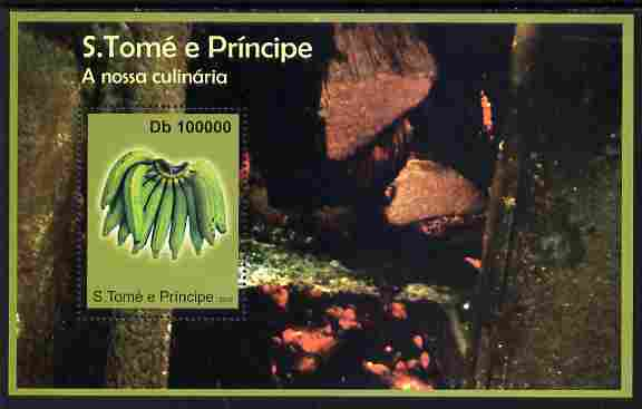 St Thomas & Prince Islands 2010 Fruit ofSt Thomas #1 perf m/sheet unmounted mint