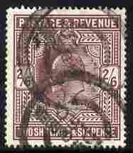 Great Britain 1902-13 KE7 2s6d purple good used  cat \A3140