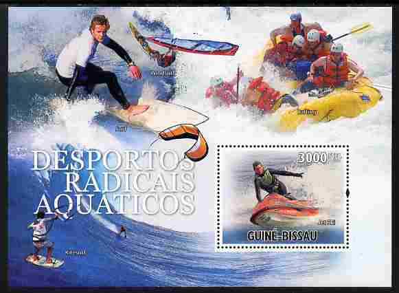 Guinea - Bissau 2010 Extreme Water Sports perf s/sheet unmounted mint