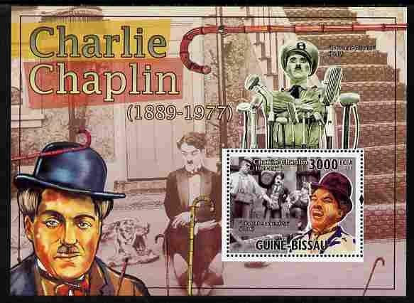 Guinea - Bissau 2010 Charlie Chaplin perf s/sheet unmounted mint