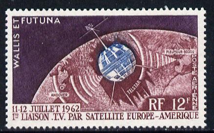 Wallis & Futuna 1962 Television Satellite unmounted mint, SG 181