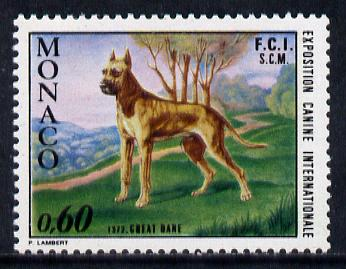 Monaco 1972 Dog Show 60c (Great Dane) SG 1036