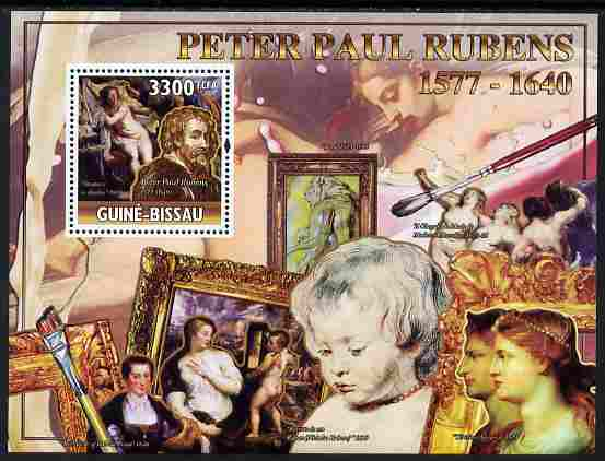 Guinea - Bissau 2010 Death Anniversary of Rubens perf s/sheet unmounted mint, Michel BL 883