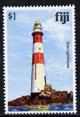 Fiji 1979 Solo Rock Lighthouse $1 (from Architecture def set) unmounted mint SG 594A