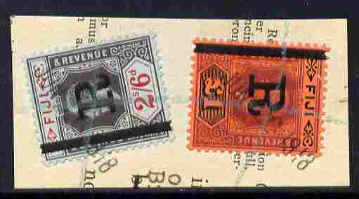 Fiji KG5 \A31 & 2s6d opt