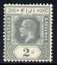 Fiji 1912-23 KG5 MCA 2d greyish-slate mounted mint SG 128
