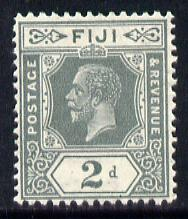 Fiji 1912-23 KG5 Script CA 2d grey mounted mint SG 233