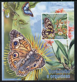 Mozambique 2013 Butterflies #3 imperf deluxe sheet unmounted mint. Note this item is privately produced and is offered purely on its thematic appeal