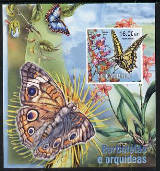 Mozambique 2013 Butterflies #4 imperf deluxe sheet unmounted mint. Note this item is privately produced and is offered purely on its thematic appeal