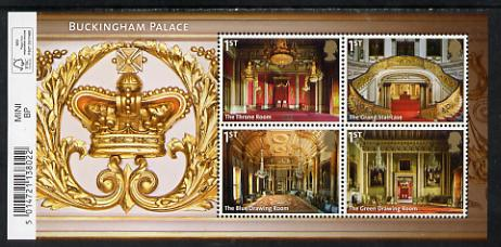 Great Britain 2014 Buckingham Palace perf m/sheet unmounted mint