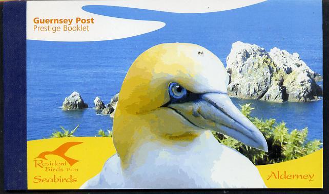 Booklet - Guernsey - Alderney 2006 Residential Birds #1 \A310.60 booklet complete & fine SG ASB16