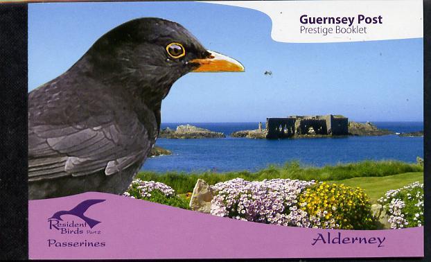Booklet - Guernsey - Alderney 2007 Residential Birds #2 \A311.32booklet complete & fine SG ASB17