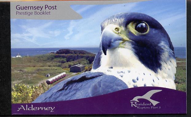Booklet - Guernsey - Alderney 2008 Residential Birds #3 \A312.00 booklet complete & fine SG ASB18