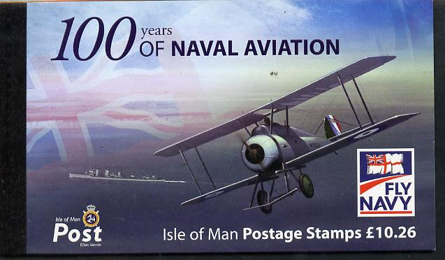 Booklet - Isle of Man 2009 Centenary of Naval Aviation \A310.26 Prestige booklet complete & fine SG SB71