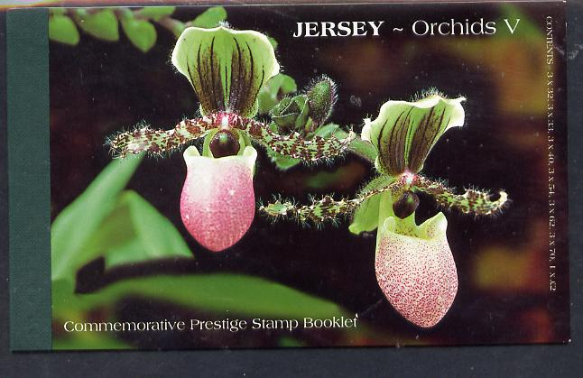 Booklet - Jersey 2004 Jersey Orchids �10.73 prestige booklet complete, SG B63