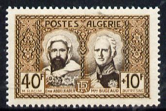 Algeria 1950 Unveiling of Monument, unmounted mint SG 305*, stamps on , stamps on  stamps on monuments