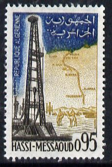 Algeria 1962 Oil Derricks 95c (from Tourism series) unmounted mint SG 399*