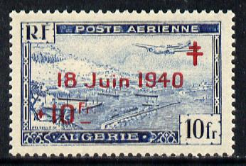 Algeria 1947 7th Anniversary of de Gaulle