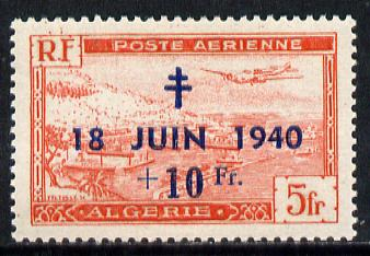 Algeria 1948 8th Anniversary of de Gaulle
