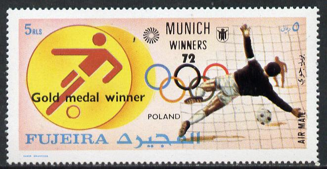 Fujeira 1972 Football (Poland) from Olympic Winners set of 25 unmounted mint (Mi 1432-56)