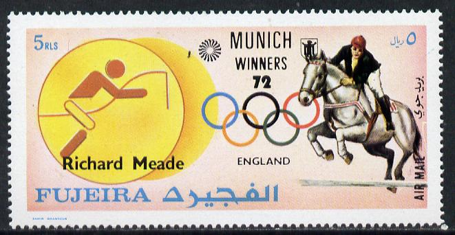Fujeira 1972 Show-Jumping (Richard Meade) from Olympic Winners set of 25 unmounted mint (Mi 1439)
