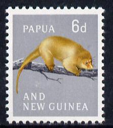 Papua New Guinea 1963 Phalanger 6d unmounted mint, SG 43*