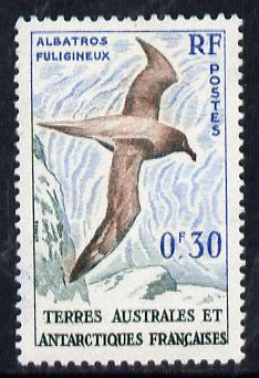 French Southern & Antarctic Territories 1956-60 Albatross 30c unmounted mint, SG 2