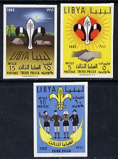 Libya 1962 Boy Scout