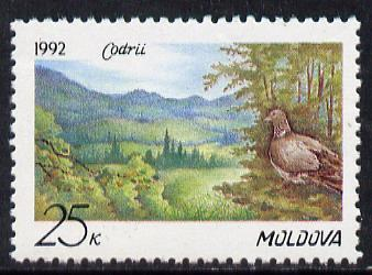 Moldova 1992 Nature Reserve (Dove) unmounted mint SG 4*