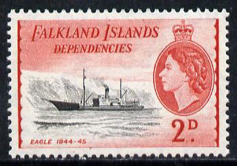 Falkland Islands Dependencies 1954-62 Ships 2d Eagle unmounted mint, SG G29