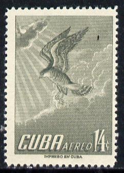Cuba 1956 Hawk 14c (from Air set) unmounted mint SG 774