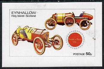 Eynhallow 1974 Vintage Cars #1 (1914 Piccard) imperf souvenir sheet (50p value) unmounted mint