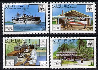 Kiribati 1980 'London 1980' set of 4 unmounted mint, SG 112-5