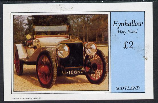 Eynhallow 1982 Vintage Cars #6 imperf deluxe sheet (�2 value) unmounted mint