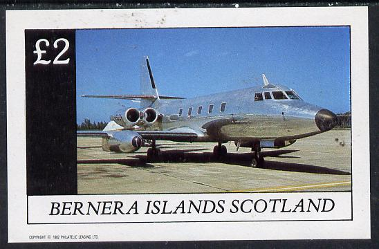 Bernera 1982 Jets imperf deluxe sheet (�2 value) unmounted mint