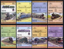 Nevis 1983 Locomotives #1 (Leaders of the World) set of 16 unmounted mint SG 132-47