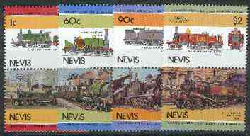Nevis 1985 Locomotives #3 (Leaders of the World) set of 8 unmounted mint SG 277-84