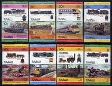 Tuvalu 1984 Locomotives #2 (Leaders of the World) set of 16 unmounted mint, SG 253-68