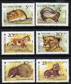 Kazakhstan 1993 Animals complete perf set of 6 unmounted mint SG 29-34