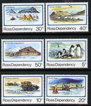 Ross Dependency 1982 Antarctic Scenes set of 6 unmounted mint, SG 15-20*