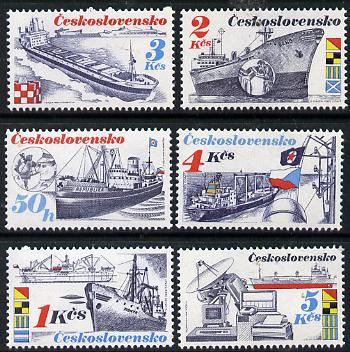 Czechoslovakia 1989 Shipping set of 6 unmounted mint, SG 2969-74, Mi 2994-99