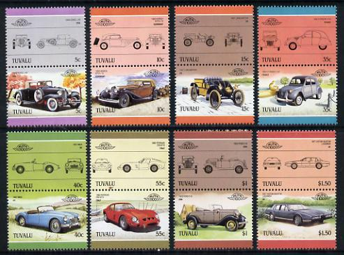 Tuvalu 1985 Cars #3 (Leaders of the World) set of 16 unmounted mint, SG 356-71