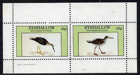 Eynhallow 1982 Waders #3 perf  set of 2 values (40p & 60p) unmounted mint