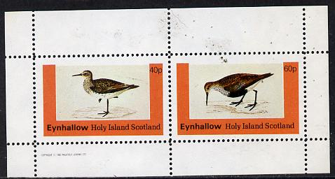 Eynhallow 1982 Waders #4 perf  set of 2 values (40p & 60p) unmounted mint