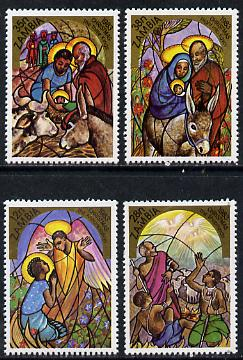 Zambia 1983 Christmas set of 4, SG 396-99 unmounted mint*