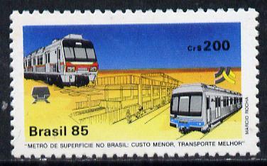 Brazil 1985 Surface Railway, SG 2128*