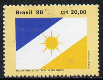 Brazil 1990 State of Tocantines (Flag) SG 2432*