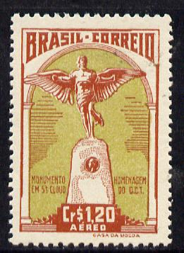 Brazil 1947 Homage to Santos Dumont (aviation pioneer) unmounted mint SG 749